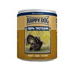 Happy Dog Truthahn Pur - Pulykahúsos Konzerv 400g