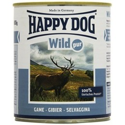 Happy Dog Wild Pur - Vadhúsos Konzerv 200g