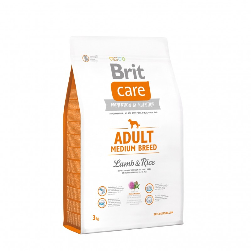 Brit Care Adult Medium Breed 3kg