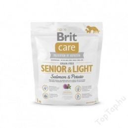 Brit Care Grain-Free Senior & Light Salmon & Potato 1kg