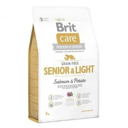 Brit Care Grain-Free Senior & Light Salmon & Potato 3kg