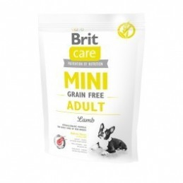 Brit Care Mini Grain-Free Adult Lamb 400g
