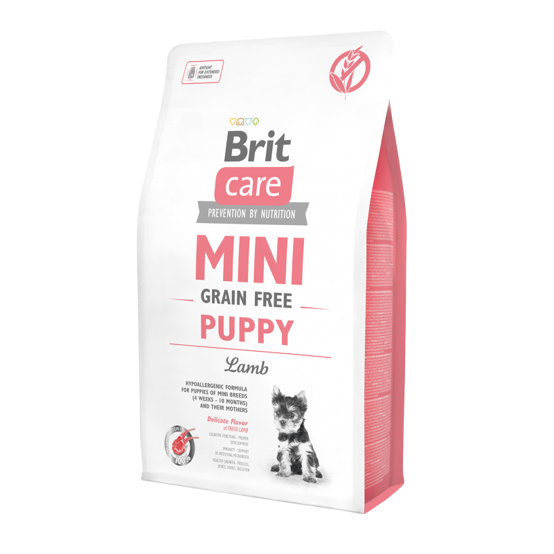 Brit Care Mini Grain-Free Puppy Lamb 2kg