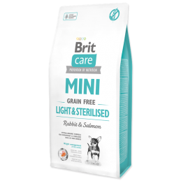 Brit Care Mini Grain-Free Light & Sterilised Rabbit & Salmon 7kg
