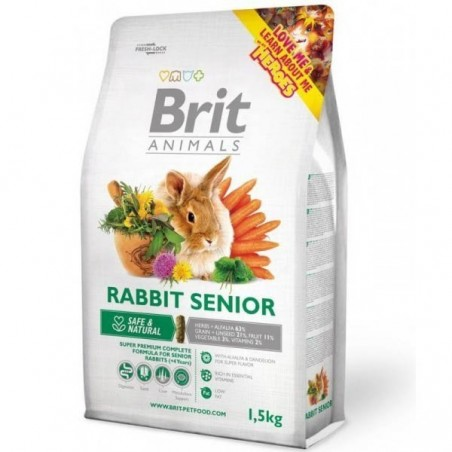 Brit Animals Rabbit Senior 1,5kg