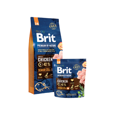 Brit Premium By Nature Senior Small / Medium 8kg