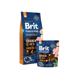 Brit Premium By Nature Senior Small / Medium 15kg