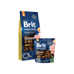 Brit Premium Medium Breed Junior 15kg