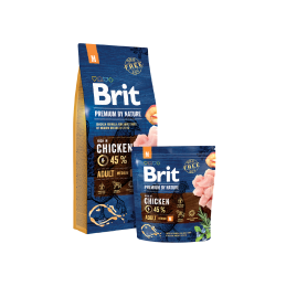 Brit Premium Medium Breed Adult 15kg