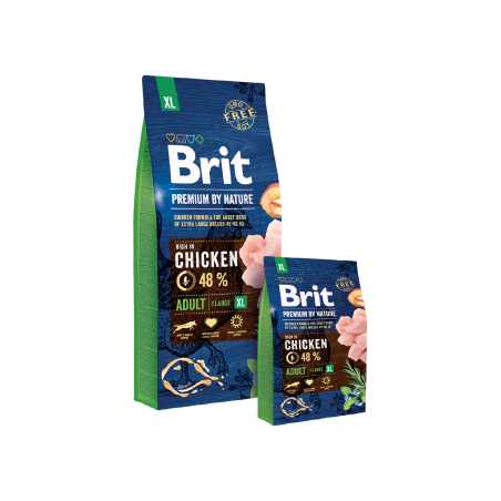 Brit Premium by Nature Adult Extra Large 15kg