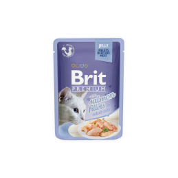 Brit Premium Cat Salmon Fillets in Jelly alutasakos 85g