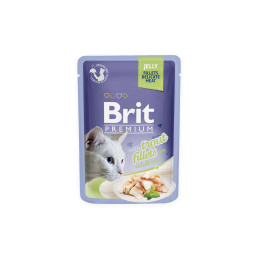 Brit Premium Cat Trout Fillets in Jelly alutasakos 85g