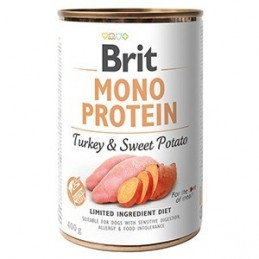 Brit Mono Protein Turkey & Sweet Potato konzerv 400g