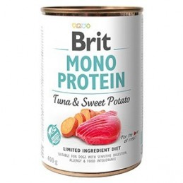 Brit Mono Protein Tuna & Sweet Potato konzerv 400g