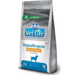 Vet Life Hypoallergenic Dog Fish & Potato 2kg