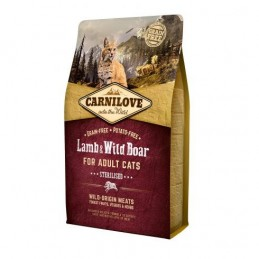 Carnilove Cat Adult Lamb &...