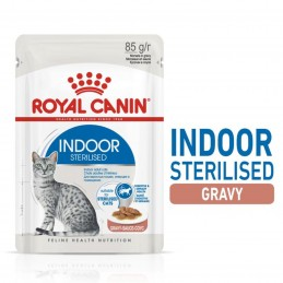 Royal Canin Indoor Gravy 85g