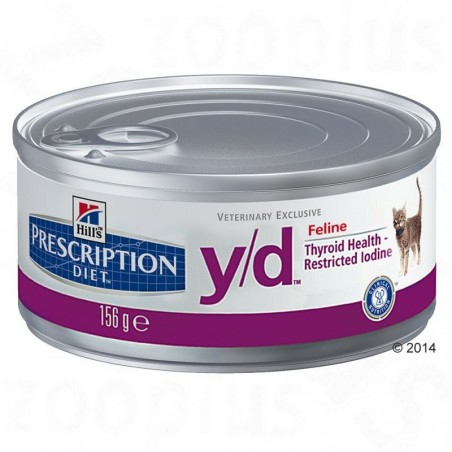 Hill´s Prescription Diet Feline Y/D 156g