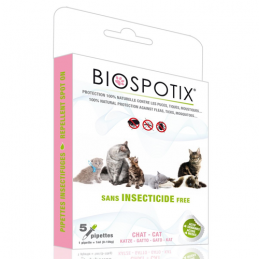 BIOSPOTIX macska Spot on 5x1ml