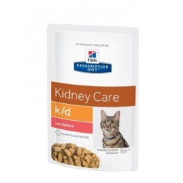 Hill's Prescription Diet Feline K/D Renal Salmon 85g