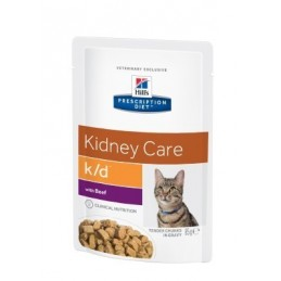 Hill's Prescription Diet Feline K/D Renal Beef 85g