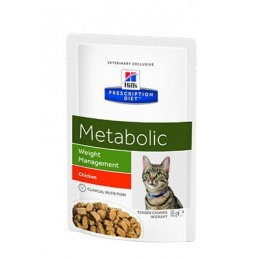 Hill's Prescription Diet Feline Metabolic Weight Loss 85gx12
