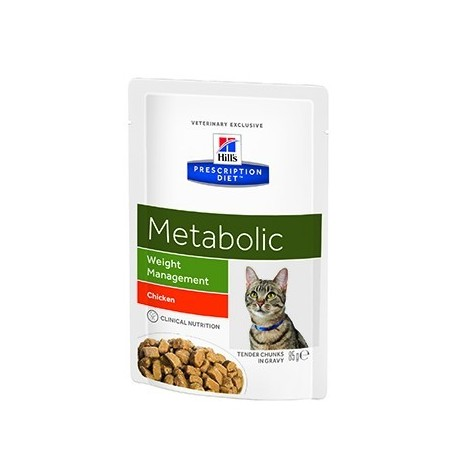 Hill's Prescription Diet Feline Metabolic Weight Loss 12x85g