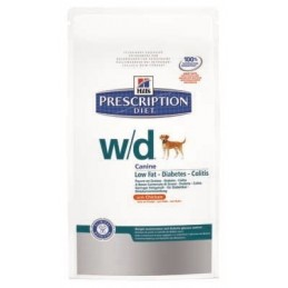 Hill's Prescription Diet Canine W/D Low fat 12kg