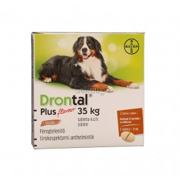 Drontal Plus 35kg tabletta 1db